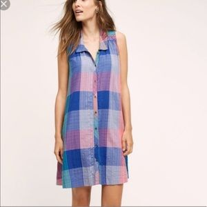 Anthropologie   Holding Horses Patchwork Dress XS